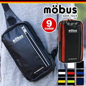 【ポイント10倍】 mobus モーブス ボディバッグ ワンショルダーバッグ ボディーバッグ スクエア 縦型 メンズ レディース 男女兼用 ブラック MBX303 MBX303N MBX-303