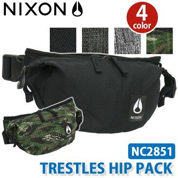 【ポイント5倍】 【正規品】 NIXON ニクソン TRESTLES HIP PACK BAG トレスルズ ヒップパック バッグ ウエストポーチ メンズ レディース 男女兼用 ブラック 1L NC2851