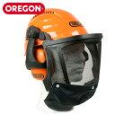 OREGON 高性能ヘルメット 562413 頭部 顔面 防護 防護材 安全 保護 林災防 バイザー 騒音対策 ツール 林業 農業 野外 室内 オレゴン 【送料無料】