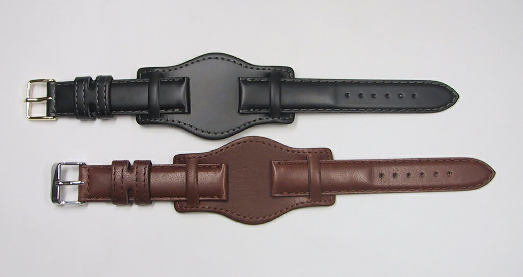 With a table calf watch belt