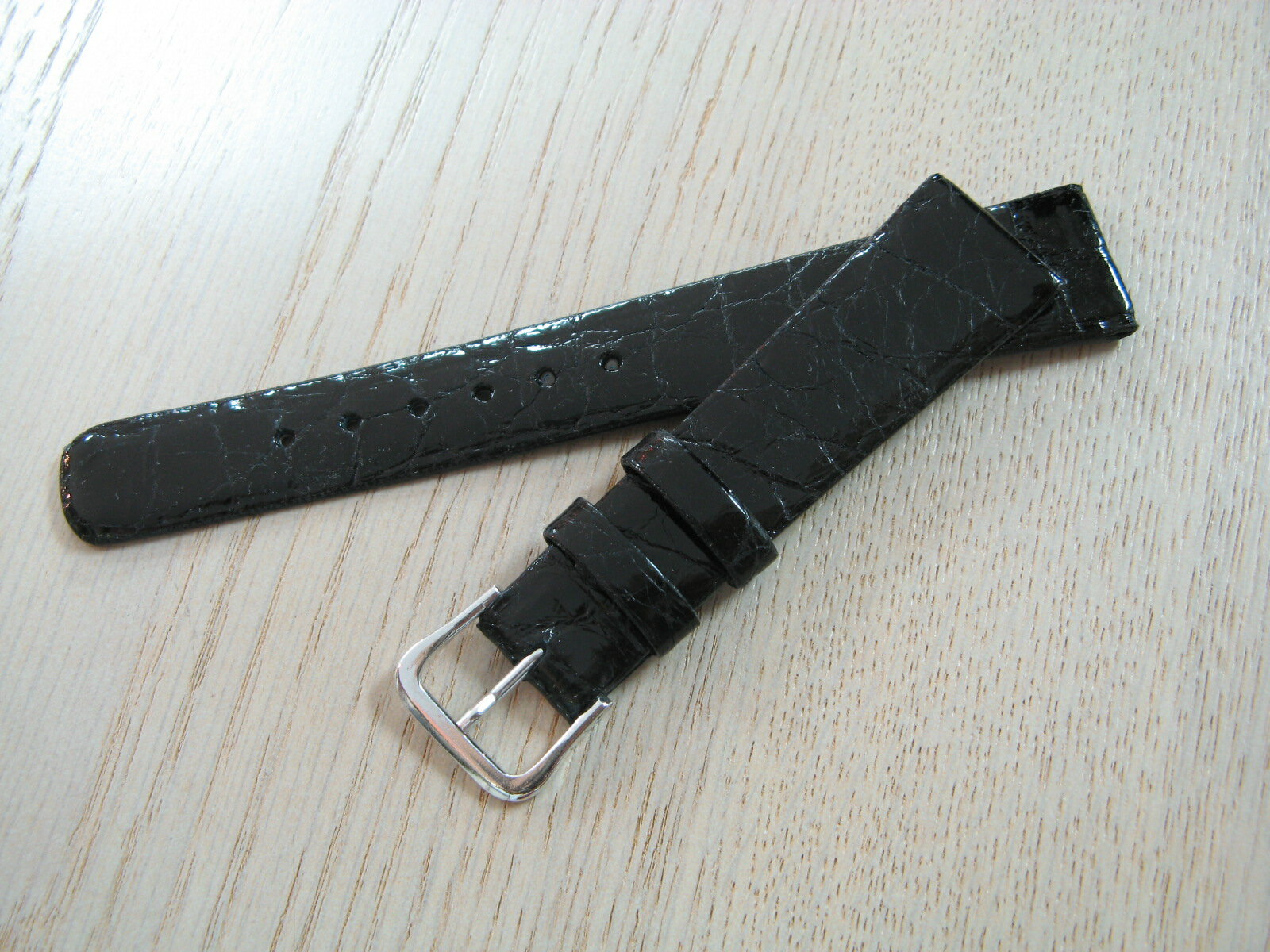 The finest crocodile leather watch belt 16 mm to 20 mm