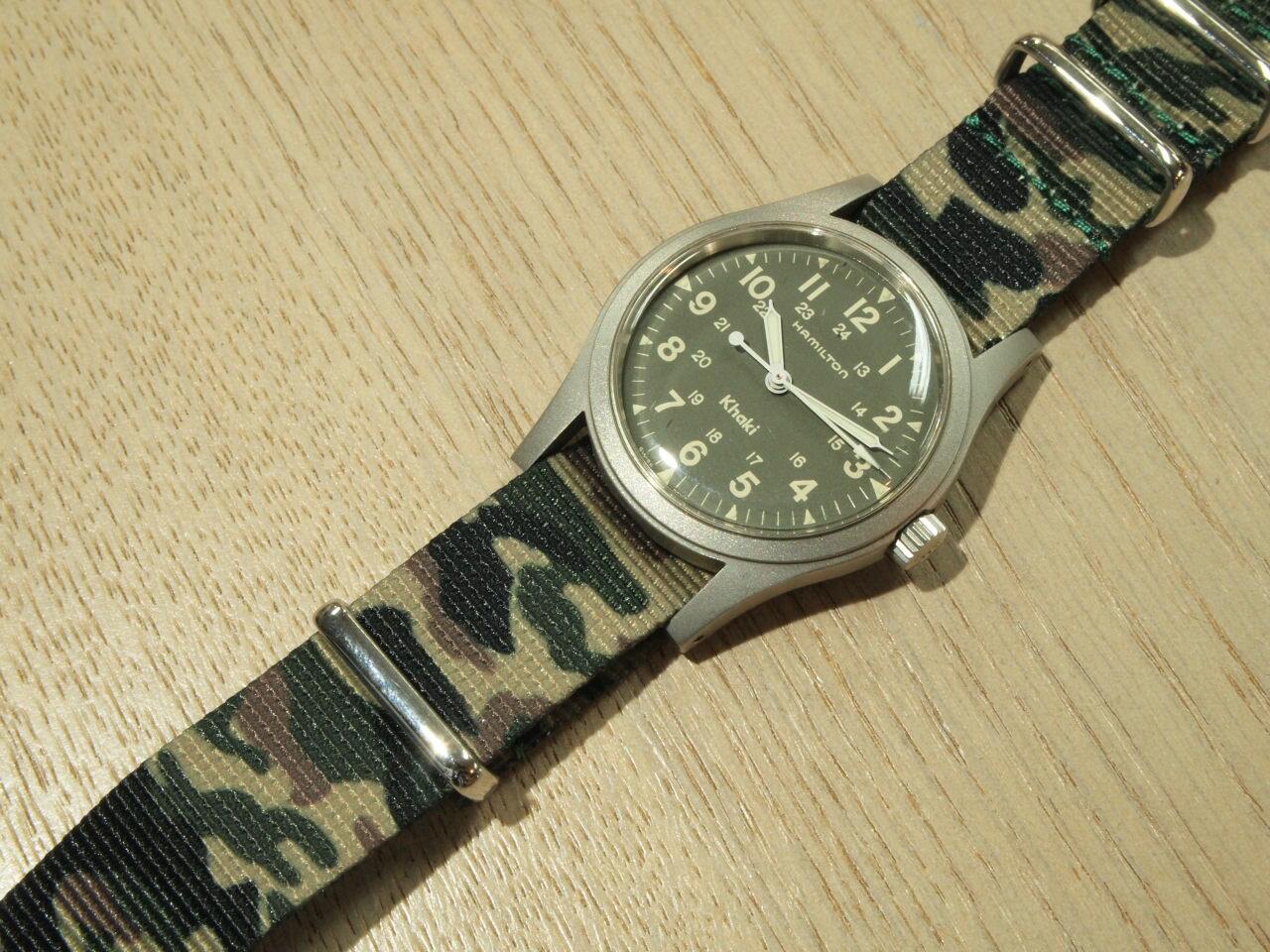 腕時計, メンズ腕時計 HAMILTON Khaki Mechanical 9415A