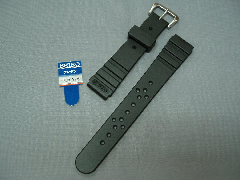 SEIKO純正ダイバー用時計ベルトウレタン 18ミリ DAL5