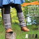 アルパカ混ニットのケーブル柄レッグウォーマー〜ウールが入った縄柄ニットはあったかいから秋冬の防寒対策・冷え性対策にぴったりに。価値が高まる日本製ニット〜【プロディガル】