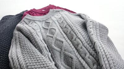 自分の為だけに作られるオーダーメイドセーター カスタマイズセーター