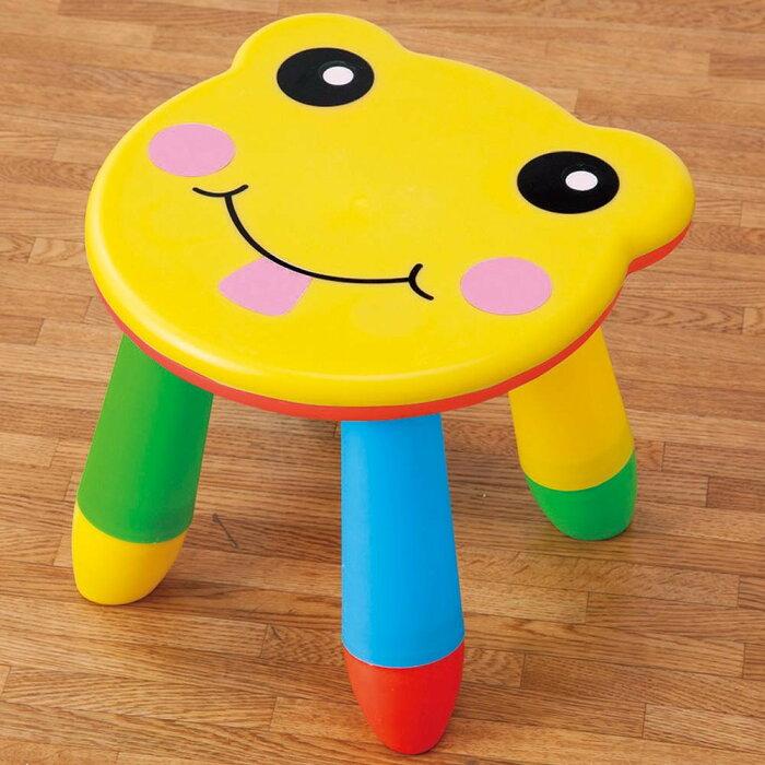 【クーポンあり】カラフルチェア 子ども 椅子 アウトドア カラフル 彩り ローチェア おままごと スツール かわいい イス キッズチェア 鮮やか ガーデンピクニック