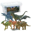 恐竜 ダイナソーソフトモデルセットB FDW-102