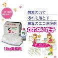 酸素系多目的洗剤 かわゆい花子 10kg 業務用