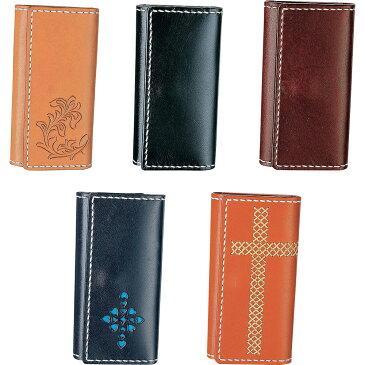 クラフト社 革キット Simple Leather Style シンプルレザースタイル 三つ折キーケース ヴォーノアニリン使用!