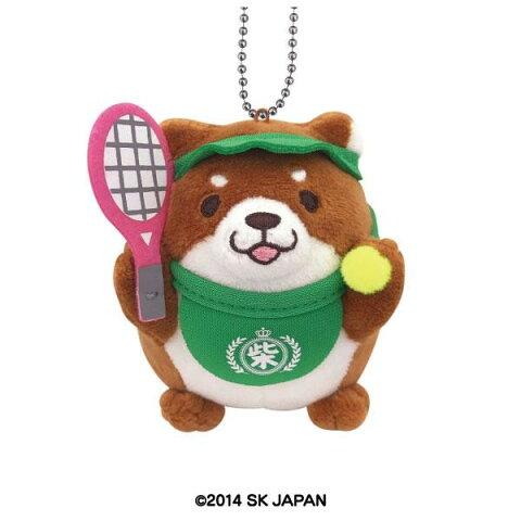 【クーポンあり】忠犬もちしば ぬいぐるみボールチェーン テニス バッグに付けてもとっても可愛い♪
