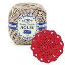 オリムパス レース糸(太番手) エミーグランデ(ハウス) 25g玉巻 3玉セット H17/太くて編みやすいエミーグランデ!