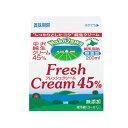 【クール便発送商品】《中沢乳業》純生クリーム 45%【200ml】
