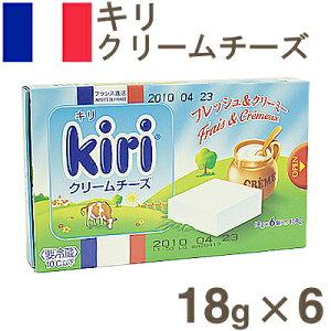 《Kiri(キリ)》クリームチーズ6P【18gx6】