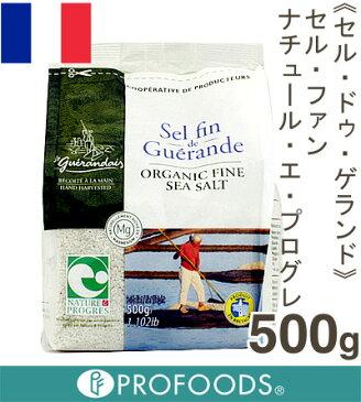 《セル・ドゥ・ゲランド》セル・ファン・ナチュール・エ・プログレ(微粒)【500g】