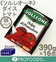 ■ケース販売■《ソル・レオーネ》ダイストマト(紙パック)【390g...