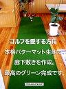 ゴルフを愛する方の廊下敷きカーペット 92cm×4mタイプ SB 距離感マスターカップ付き【日本製】【ゴルフ 練習 パット カーペット グリーン 緑】