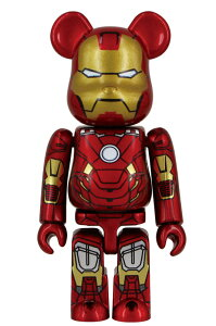MEDICOM TOY EXHIBITION 2012 開催記念商品BE@RBRICK IRON MAN MARK VII 100%