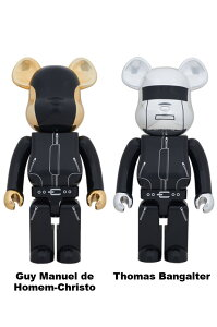 MEDICOM TOY EXHIBITION 2012 開催記念商品BE@RBRICK 1000% DAFTPUNK