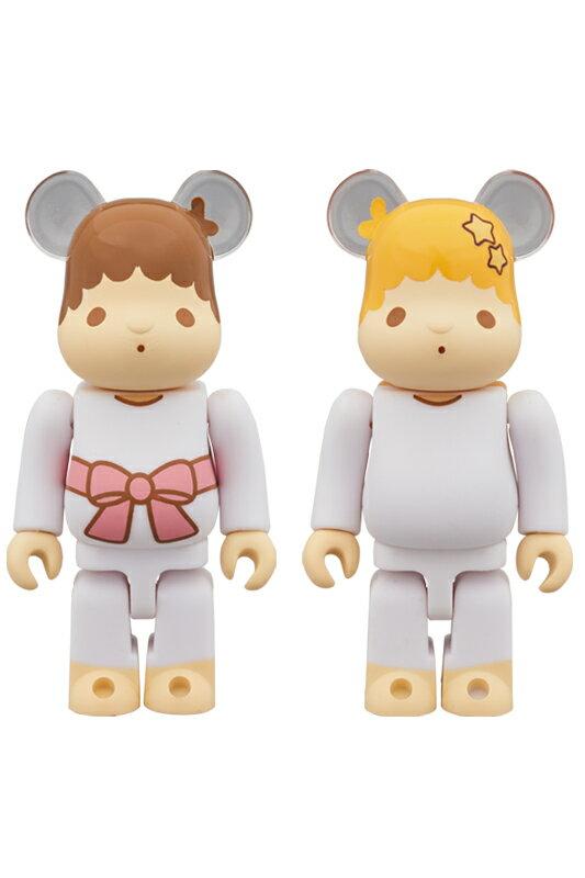コレクション, フィギュア BERBRICK Little Twin Stars 100Ver. 2 PACK