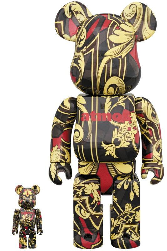 コレクション, フィギュア BERBRICK atmos scarf 100 400