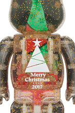 2017XmasBE@RBRICK100%&400%セットStained-glasstreeVer.2