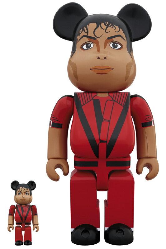 コレクション, フィギュア BERBRICK Michael Jackson Red Jacket 100 400