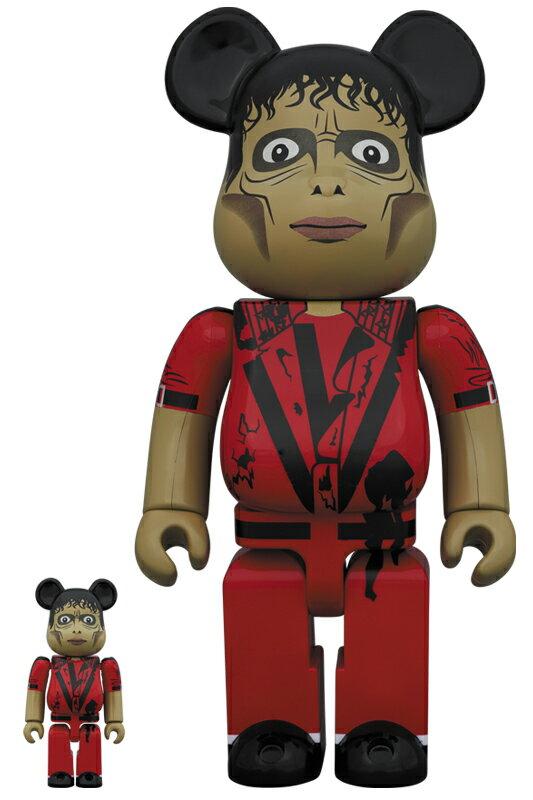 コレクション, フィギュア BERBRICK Michael Jackson Zombie 100 400