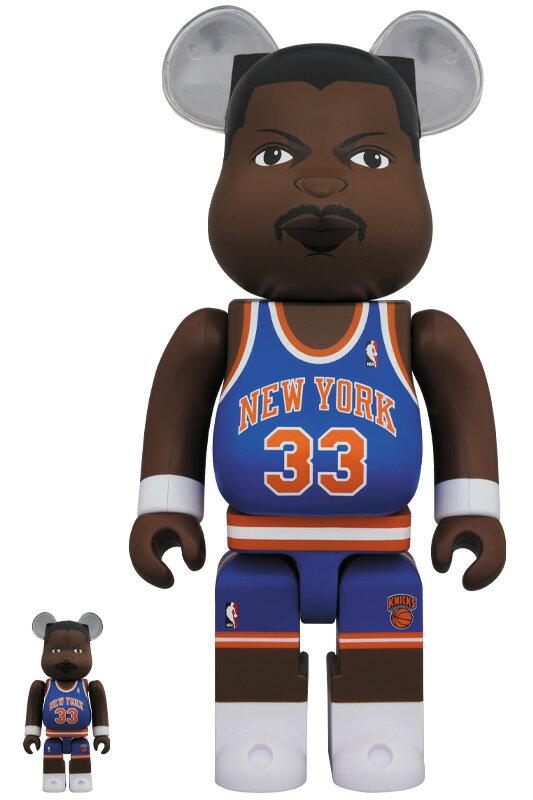 コレクション, フィギュア BERBRICK Patrick Ewing (New York Knicks) 100 400