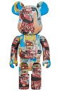 BE@RBRICK JEAN-MICHEL BASQUIAT #6 1000%《2020年10月発売・発送予定》