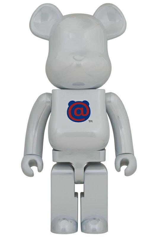 コレクション, フィギュア BERBRICK 1st MODEL WHITE CHROME 1000