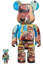 BE@RBRICK JEAN-MICHEL BASQUIAT #6 100% & 400%《2020年10月発売・発送予定》