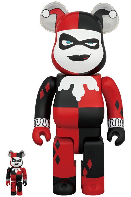 コレクション, フィギュア BERBRICK HARLEY QUINN (BATMAN The Animated Series Ver.) 100 400202011