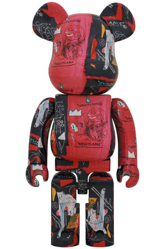 コレクション, フィギュア BERBRICK Andy Warhol JEAN-MICHEL BASQUIAT 1 1000