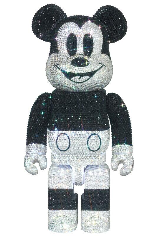 コレクション, フィギュア CRYSTAL DECORATE MICKEY MOUSE BERBRICK 400202012