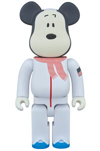 BE@RBRICK ASTRONAUTS SNOOPY 400%