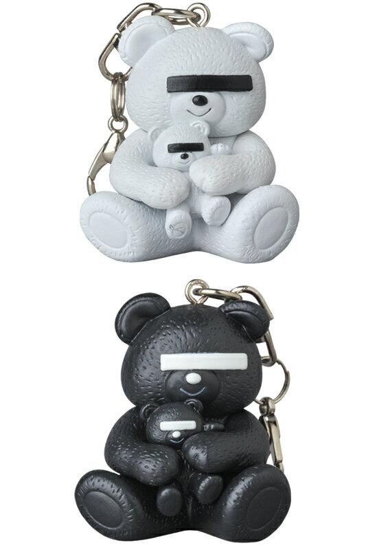 產品詳細資料,日本Yahoo代標|日本代購|日本批發-ibuy99|KEYCHAIN UNDERCOVER BEAR WHITE/BLACK