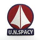 【ネコポス/DM便対応】コスパ 超時空要塞マクロス 統合軍脱着式ワッペン