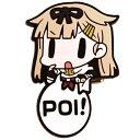 【ネコポス/DM便対応】コスパ 艦隊これくしょん -艦これ- ピョコッテ 夕立改二