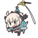 【ネコポス/DM便対応】コスパ Fate/Grand Order Fate/Grand Order セイバー/沖田総司つままれストラップ