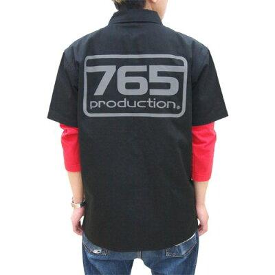【送料無料対象商品】コスパ THE IDOLM@STER 765プロワークシャツ ブラック 【5月中旬発売予定...