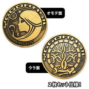 【ネコポス/ゆうパケット対応】コスパ オーバーロードIII ユグドラシル金貨 レプリカコイン