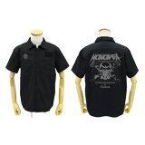 【送料無料対象商品】コスパ オーバーロード モモンガ/アインズ ワッペンベースワークシャツ BLACK