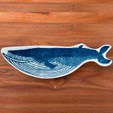 倉敷意匠 kata kata 印判手長皿 クジラ