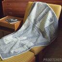 ラプアンカンクリ (LAPUANKANKURIT) PAKAPAAT blanket 90x130cm 8 grey-white