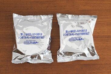 野田琺瑯 オイルポット ロカポ用 活性炭カートリッジ2個セット