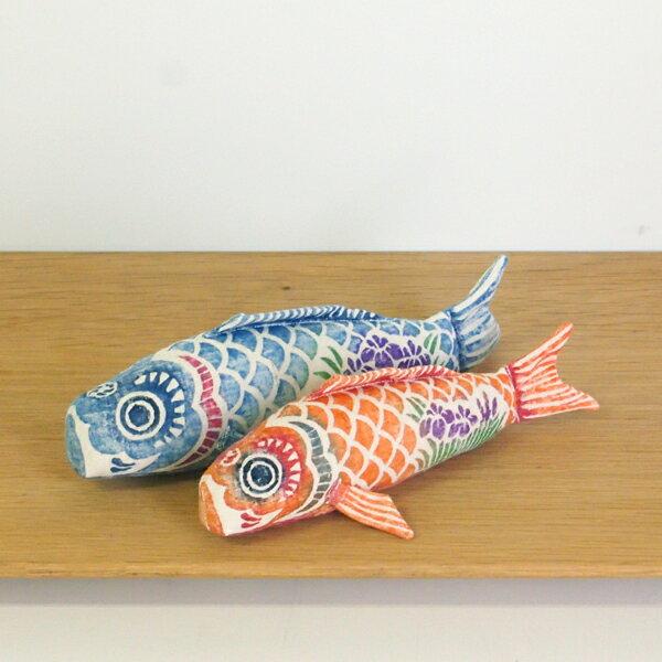 真工藝 木版手染めぬいぐるみ 鯉のぼりセット