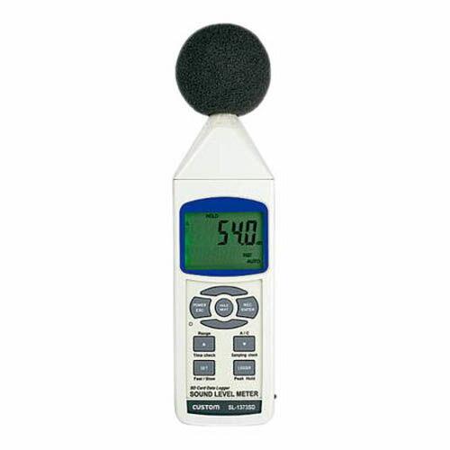 【5%OFF】 データロガー騒音計 SL-1373SD, VOLUME ce8c88d1