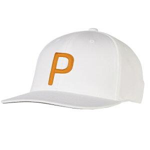 Puma Golf P Snapback Cap プーマ ゴルフ P スナップバック キャップ