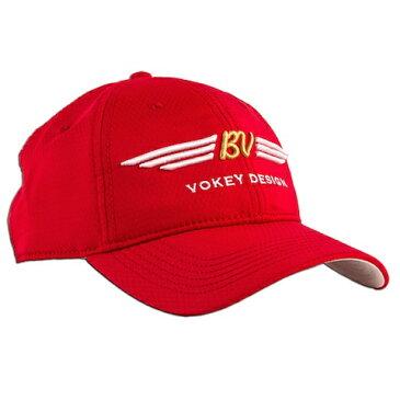 Titleist Vokey Design Q-Max Cap-Red タイトリスト ボーケイ デザイン Q Max レッド キャップ