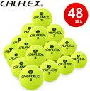 あす楽 送料無料 CALFLEX・カルフレックス 硬式テニスボール 48球入り LB-4048 (テニス ボール 硬式 硬...